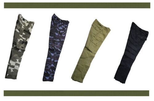 **Great Value** 6 Pocket Kids Army Combat Trousers