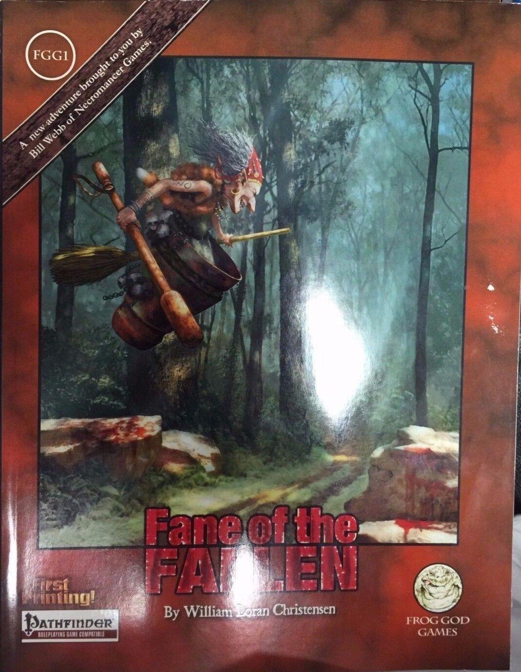 Pathfinder RPG module - Fane of the Fallen FGG1
