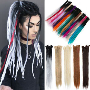 UK-100-Handmade-Dreadlocks-Dreads-Locks-Braids-Synthetic-Twist-Kalon-As-Human-T