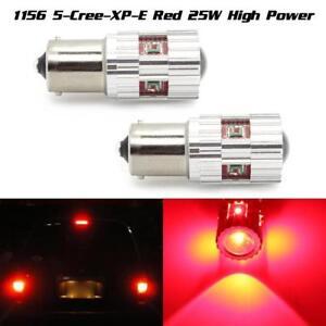2X 1156 BA15S 60W LED Super Bright Turn Brake Stop Head Car Light Lamp Bulbs