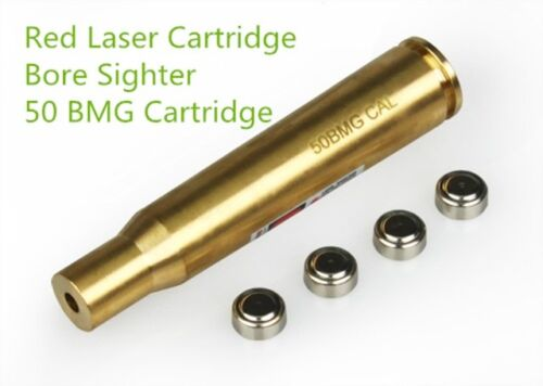 Tactical 50BMG CAL Brass Made Red Laser Bore for Scope Sighting Hunting System