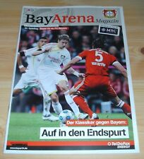 Programm Bayer 04 Leverkusen - FC Bayern München 10.04.2010 - 1.Liga - 2009/2010