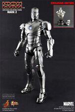 Hot Toys Iron Man Mark II Sideshow Exclusive MK 2 1/6 Scale MMS78 Tony Stark