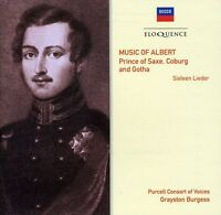 Purcell Consort Of V - Music Of Albert: Prince Of Saxe Coburg & Gotha [new Cd] on Sale