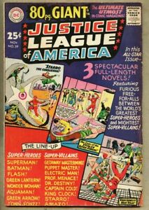 Justice-League-Of-America-39-1965-fn-6-0-80-page-giant-size-Starro-Amazo