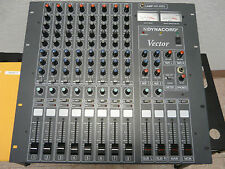 Dynacord Vector Mixing Console 8 Channel Mixer w/Manual 2 Aux / Clean