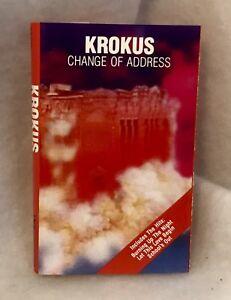 Vintage-Krokus-Change-Of-Address-Cassette-Tape