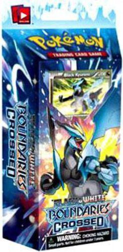 Sealed Deck Pokemon Black /& White Boundaries Crossed Black Kyurem Theme Deck