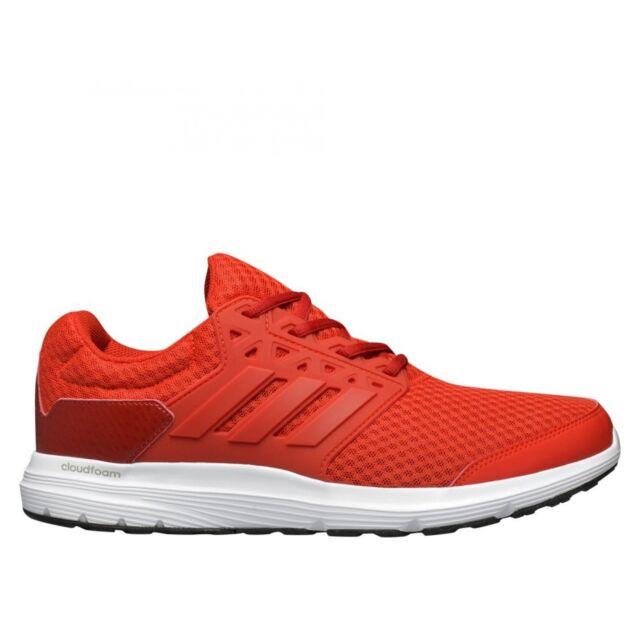 size 40 3ca41 1b10b adidas Galaxy Cloudfoam Men s Neutral Cushioned Running Trainers Gym  Fashion Red