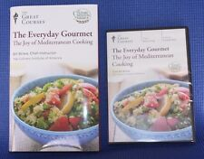 Great Courses The Everyday Gourmet Joy of Mediterranean Cooking 3 DVD Set