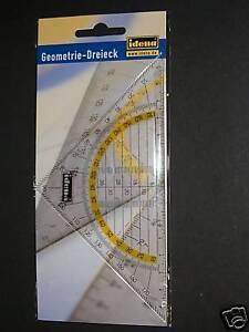 Geometrie-Dreieck-Geodreieck