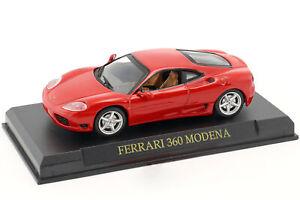 Ferrari-360-Modena-Year-1999-2005-Red-1-43-Altaya