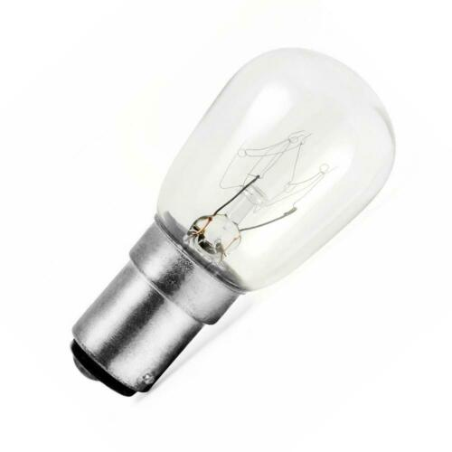Sewing Machine Bulb 15W B15 220v Screw Appliance Fridge Freezer Small Night Lamp
