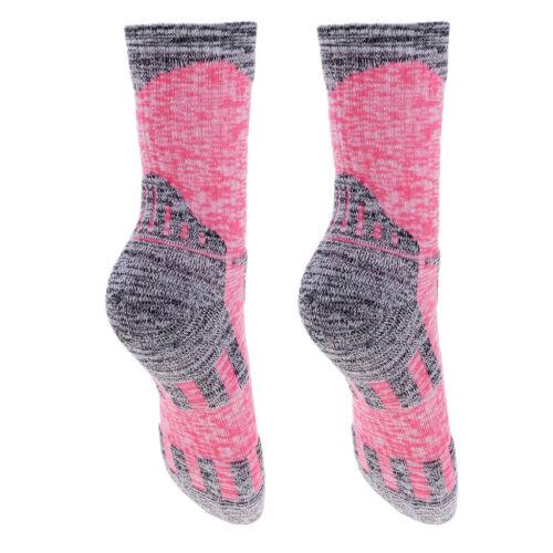 Unisex Mountain Climbing Socks Breathable Trekking Hiking Running Warm Padded