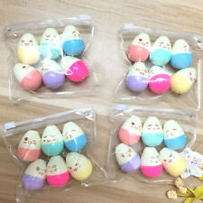3912 7D35 6 Pcs/lot Mini Smile Egg Highlighter Marker Pen Kawaii School Supplies