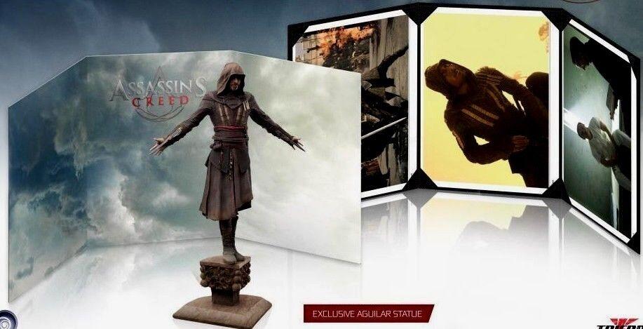 Assassin's Creed película estatua Box Set (trifuerza)  Nuevo  -  envío Gratis