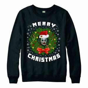 Joyeux-Noel-Joker-Christmas-Jumper-DC-Comics-cadeau-Festif-Noel-NEUF