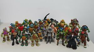 TMNT TEENAGE MUTANT NINJA TURTLES Action Figures Bulk Lot x 36 Toy Bundle