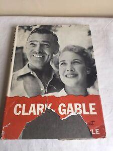 Vintage-1961-Clark-Gable-A-Personal-Portrait-Kathleen-Gable-Hardcover