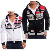 Geographical Norway Herren Kapuzen Pullover Hoodie Sweatshirt Jacke M - 3XL WOW!