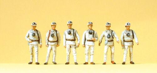Bergarbeiter #NEU in OVP## Preiser 10555 Spur H0 Figuren