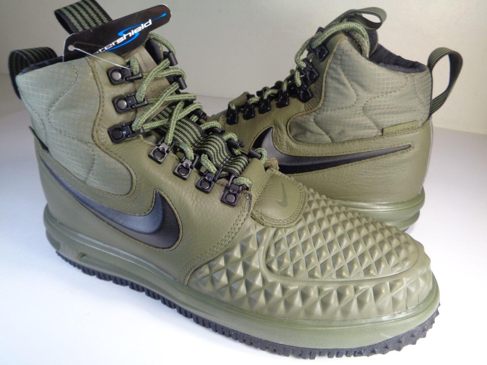 Nike LF1 Duckboot 17 Medium Olive Green Black Wolf Grey SZ 11 (916682-202)