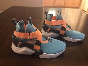 New-Nike-Air-Huarache-City-Blue-Gaze-Sneaker-Shoes-Size-US-5-5
