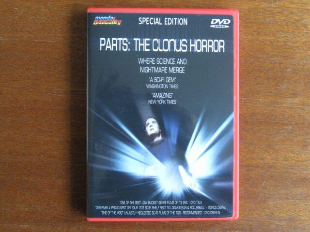 PARTS: THE CLONUS HORROR. SPECIAL EDITION DVD REGION ALL.NTSC ENGLISH LANGUAGE.