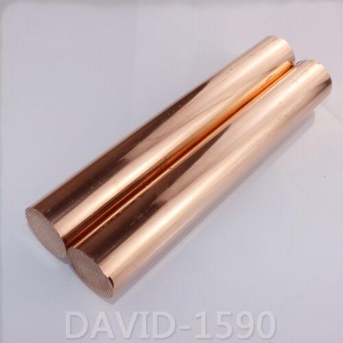 4-80mm L 200mm C11000 Cu-ETP Pure Copper Stick  Copper Round Bar Solid Rods Dia