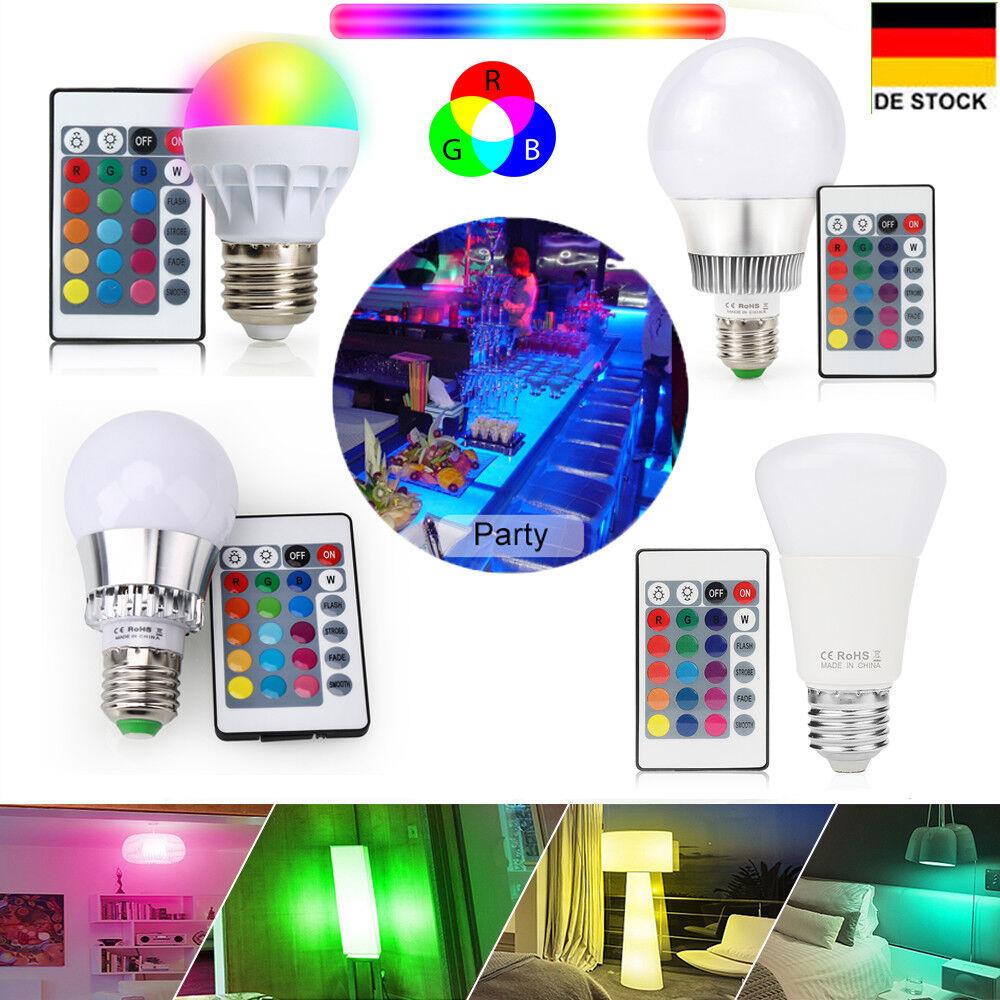 E14 e27 3w 5w 10w RGB luz Led Bombilla LED montaje plafón panel lámpara