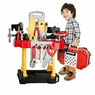 83 Pieces Kids Construction Toy Workbench for Toddlers Kids Workbench