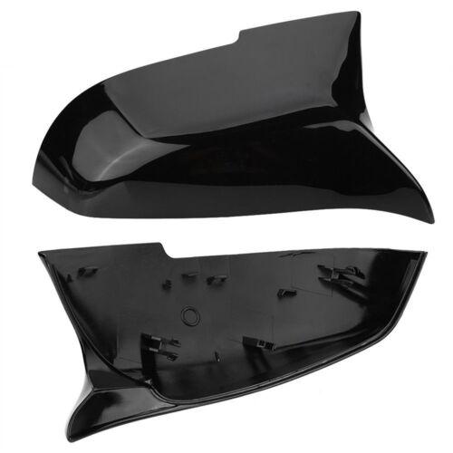 NEW Gloss Black Rearview Mirror Cover Suit BMW F20 F21 F22 F30 F32 F36 X1 F87 M3