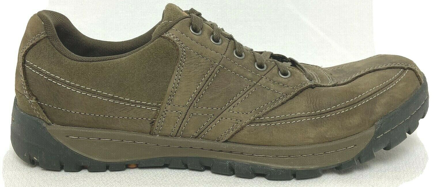 Merrell Men's Traveler Spin Canteen Taupe Leather Suede Comfort Sneakers 11 M