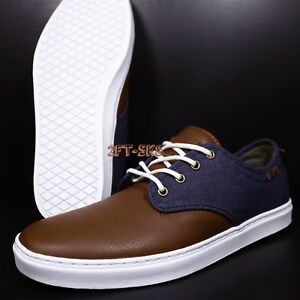 02bc3894e6 VANS LUDLOW SUITING CLASH PARISIAN MEN S 13 SKATE SHOES    S89155 ...