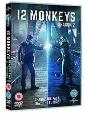 12 Monkeys . The Complete Season 2 . Staffel . 3 DVD . NEU . OVP