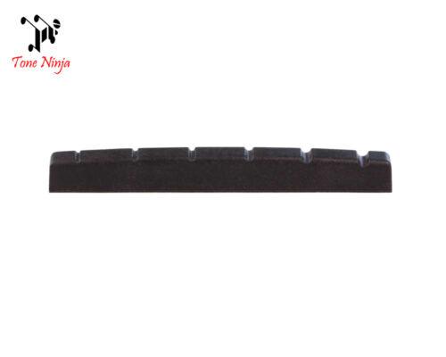 Tone Ninja USA Made Slotted Nut Flat bottomed 42mm Black TN-NUT-003-B1