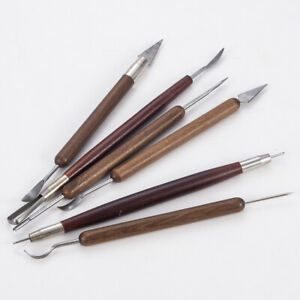 6PCS-Carving-Tools-Ceramic-Modeling-Craft-Clay-Sculpting-Set-Assorted-Polymer