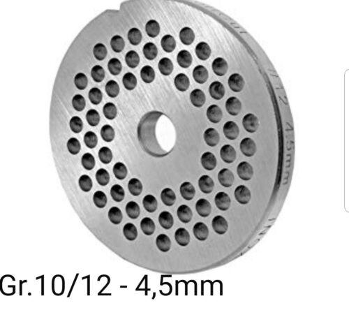 Lochscheibe für Fleischwolf Größen 10//12-4,5mm Bosch Alexanderwerk Jupiter