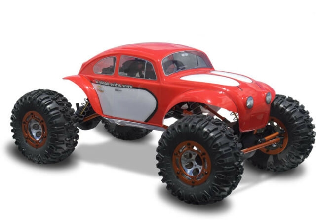1:10 RC Clear Lexan Body Shell Beetle Baja Bug  for Buggy, Truck or Crawler Colt