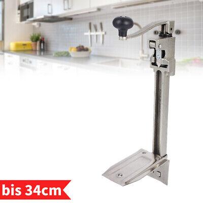 Dosenöffner Gastronomie Tischdosenöffner Büchsenöffner für Dose bis zu 34cm Höhe