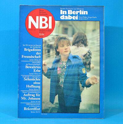Gewissenhaft Ddr Nbi 23 1984 Schwarza Doberan Rockhaus Schwimmen Heiligenstadt Westberlin R Freigabepreis