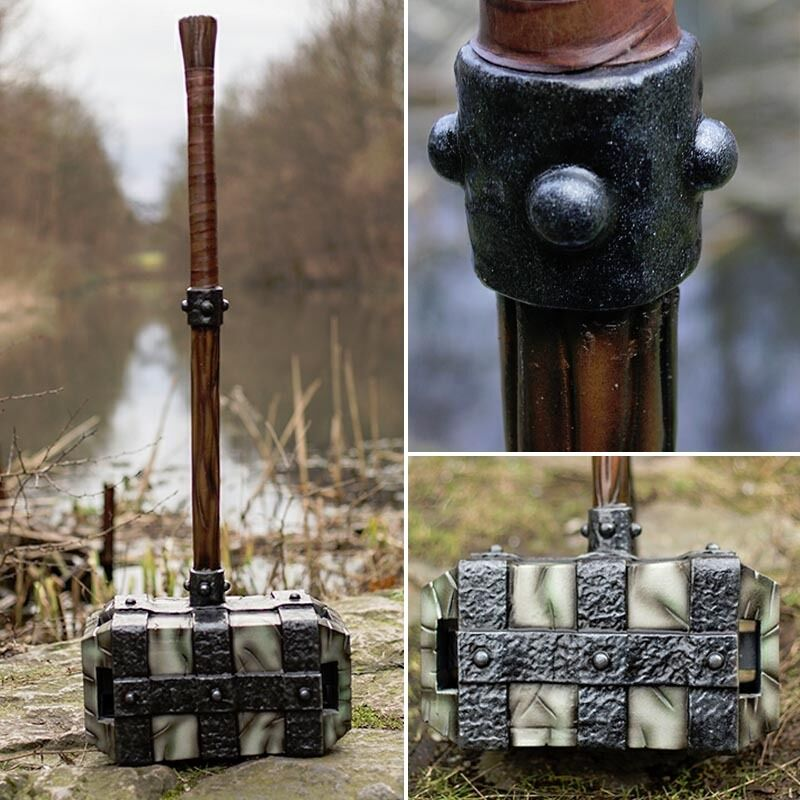 Foam & Latex Stone Hammer - LARP Weaponry - Roleplay Ready