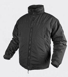 Marque De Tendance Helikon Tex Level 7 Apex Climashield Cold Weather Veste D'hiver Jacket Noir L-afficher Le Titre D'origine Bonne Conservation De La Chaleur