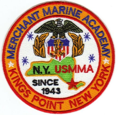 SINCE 1943                Y KINGS POINT NEW YORK MERCHANT MARINE ACADEMY PATCH