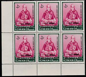 Manama (1215) - 1966 Kennedy-avec Variété Non Montés Mint-afficher Le Titre D'origine