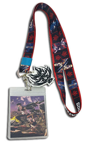 GROUP LANYARD ID Card Holder Collectible anime GOD EATER