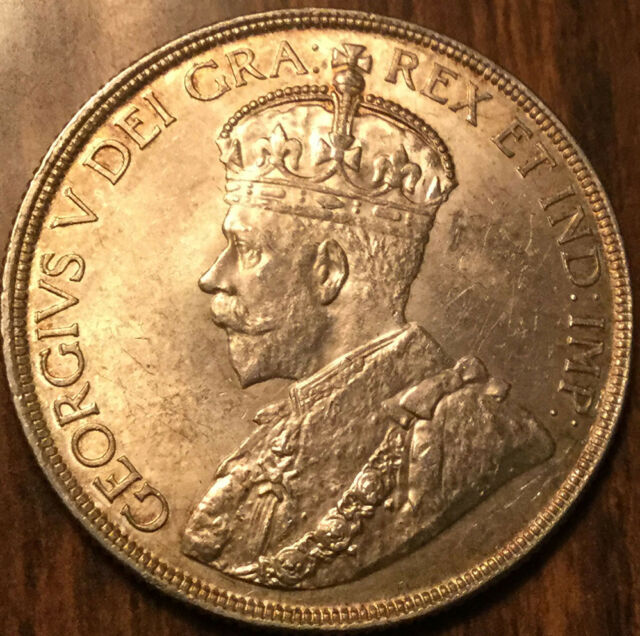 1936 CANADA SILVER DOLLAR - Choice! Amazing !!