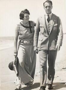 Anne-Stillman-et-Fowler-McCormick-2-tirages-argentiques-circa-1932-Trampus