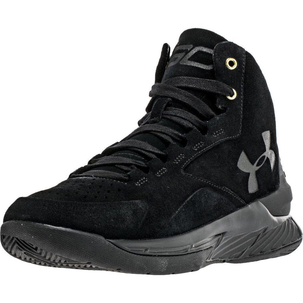 Under Armour Curry 1 High Men's Black Basketball 1298701 001