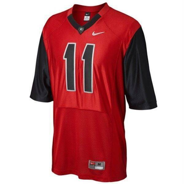 buy popular cdf6b 84e46 Nike Georgia Bulldogs Pro Combat Rivalry Jersey Jake Fromm's Number #11 NO  NAME
